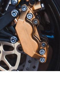 Bremsbelag / -backe für Motorrad